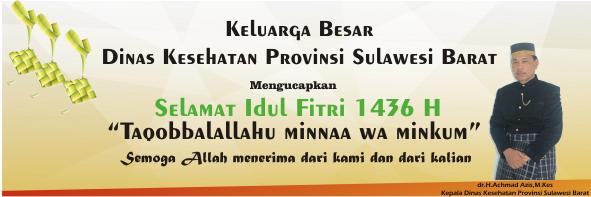 Halal Bi Halal Dinas Kesehatan Provinsi Sulawesi Barat