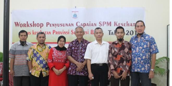 Workshop Standar Pelayanan Minimal Kesehatan Provinsi Sulawesi Barat