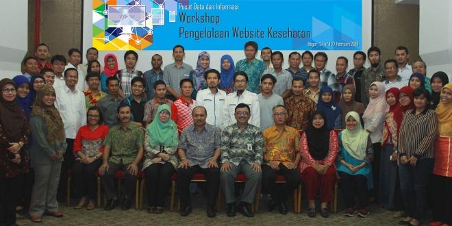 Workshop Pengelolaan Website Kesehatan 2016