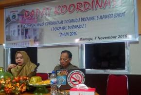 Provinsi Sulawesi Barat Gelar Rapat Koordinasi Pokjanal Posyandu
