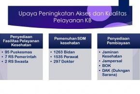 Dukungan Dinas Kesehatan Provinsi Sulawesi Barat dalam Program Keluarga Berencana