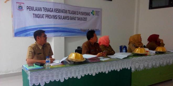 Pemilihan Nakes Teladan Tingkat Puskesmas Sulawesi Barat