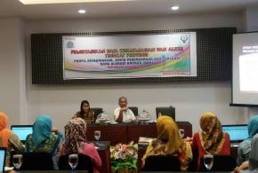 Dinas Kesehatan Provinsi Sualwesi Barat melaksanakan Pemutakhiran Data Kefarmasian Kesehatan