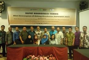 Rapat Koordinasi Teknis Risnakes 2017 Provinsi Sulawesi Barat