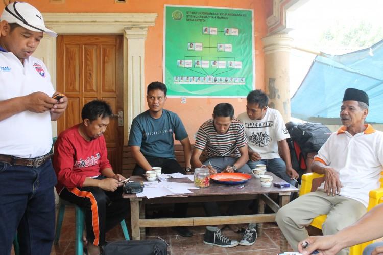 Penyusunan Rencana Aksi Pembangunan Sarana Air Bersih Desa Pati'di, Desa Bangunmandar Sehat
